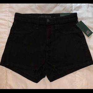 wild fable (target) black jean shorts!